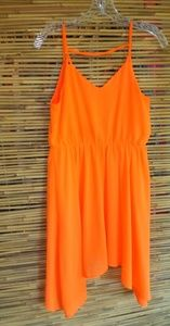 Charlotte Russe Orange Formal Sz M